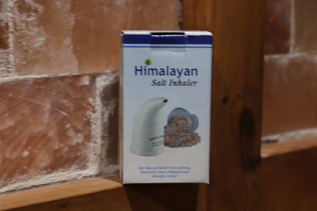 Himalayan Rock Salt Inhalers